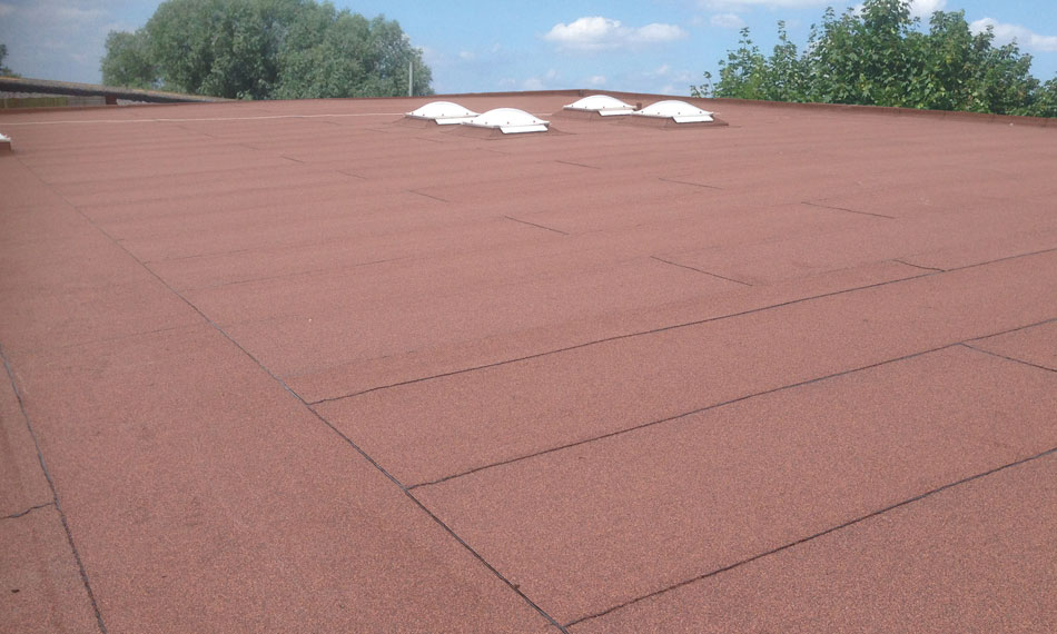 General Asphalte Built-up Felt Roofing
