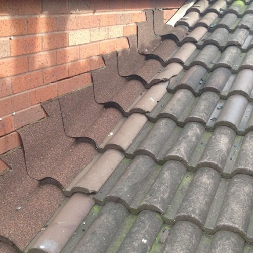General Asphalte Pitched Roof Flashing