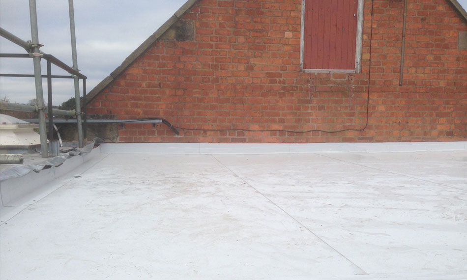 Single Ply Roof Installation : Flat roofing general asphalte website